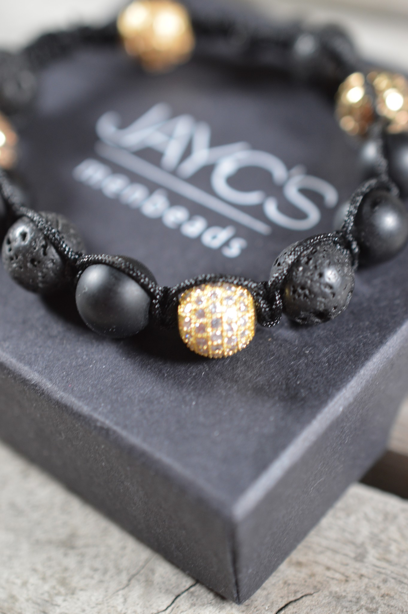 JayC's Shamballa Armband Männer Tymo