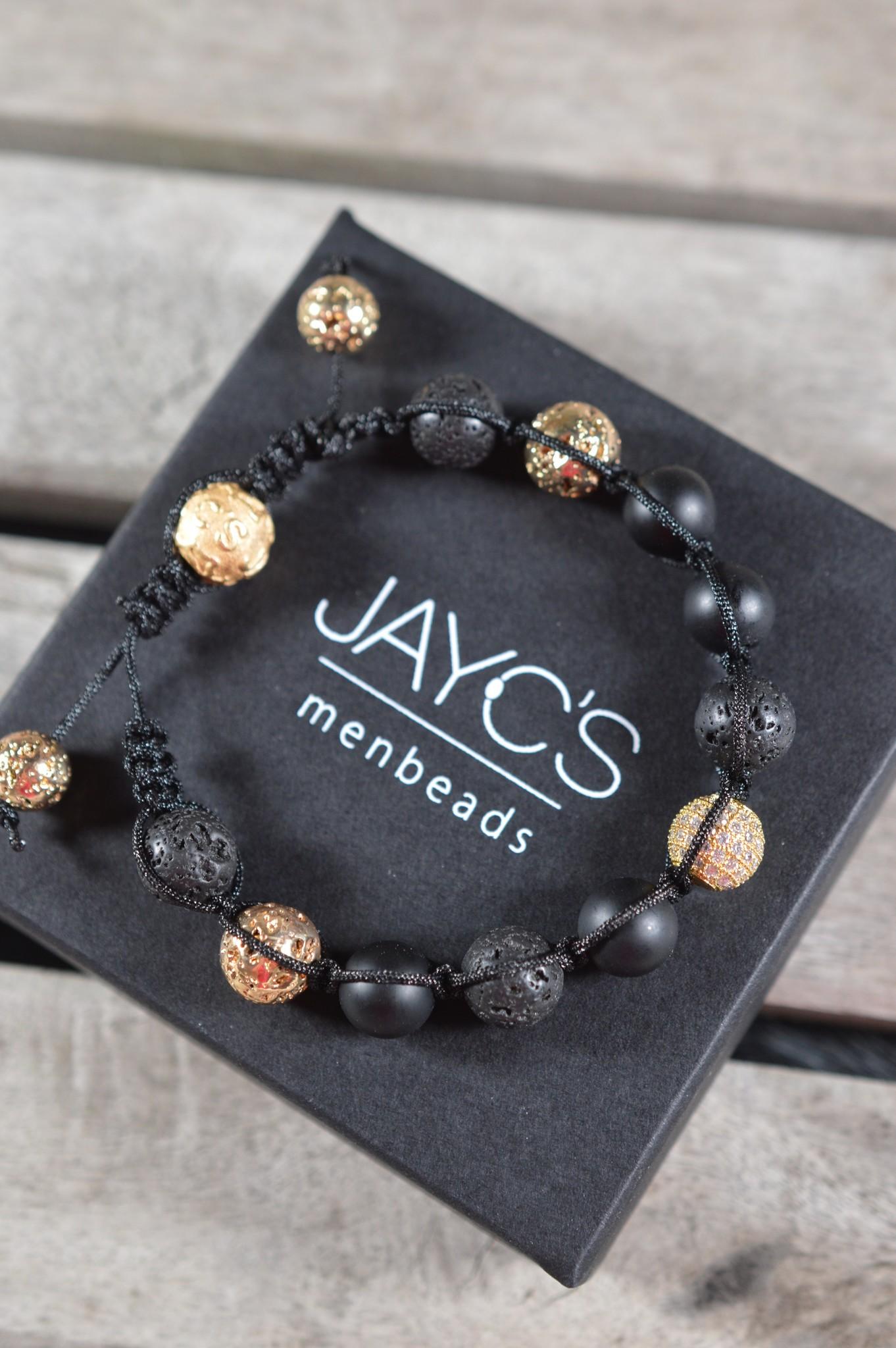 JayC's Shamballa Armband heren Tymo