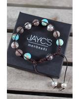 JayC's Shamballa Men's bracelet  Geruan