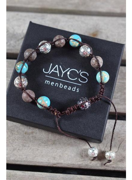 JayC's Shamballa Heren armband Geruan