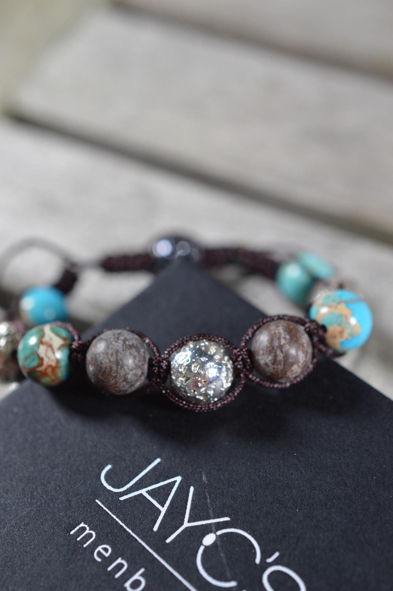 JayC's Shamballa Bracelet men  Geruan