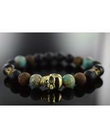 JayC's Men's Bracelet  Deleryum Skull