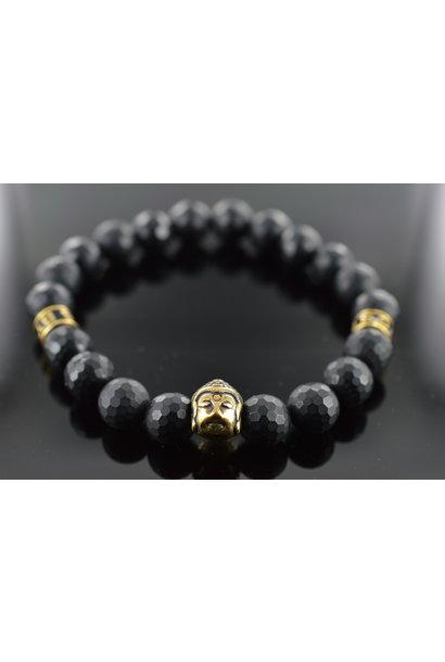 Heren armband Black Buddha