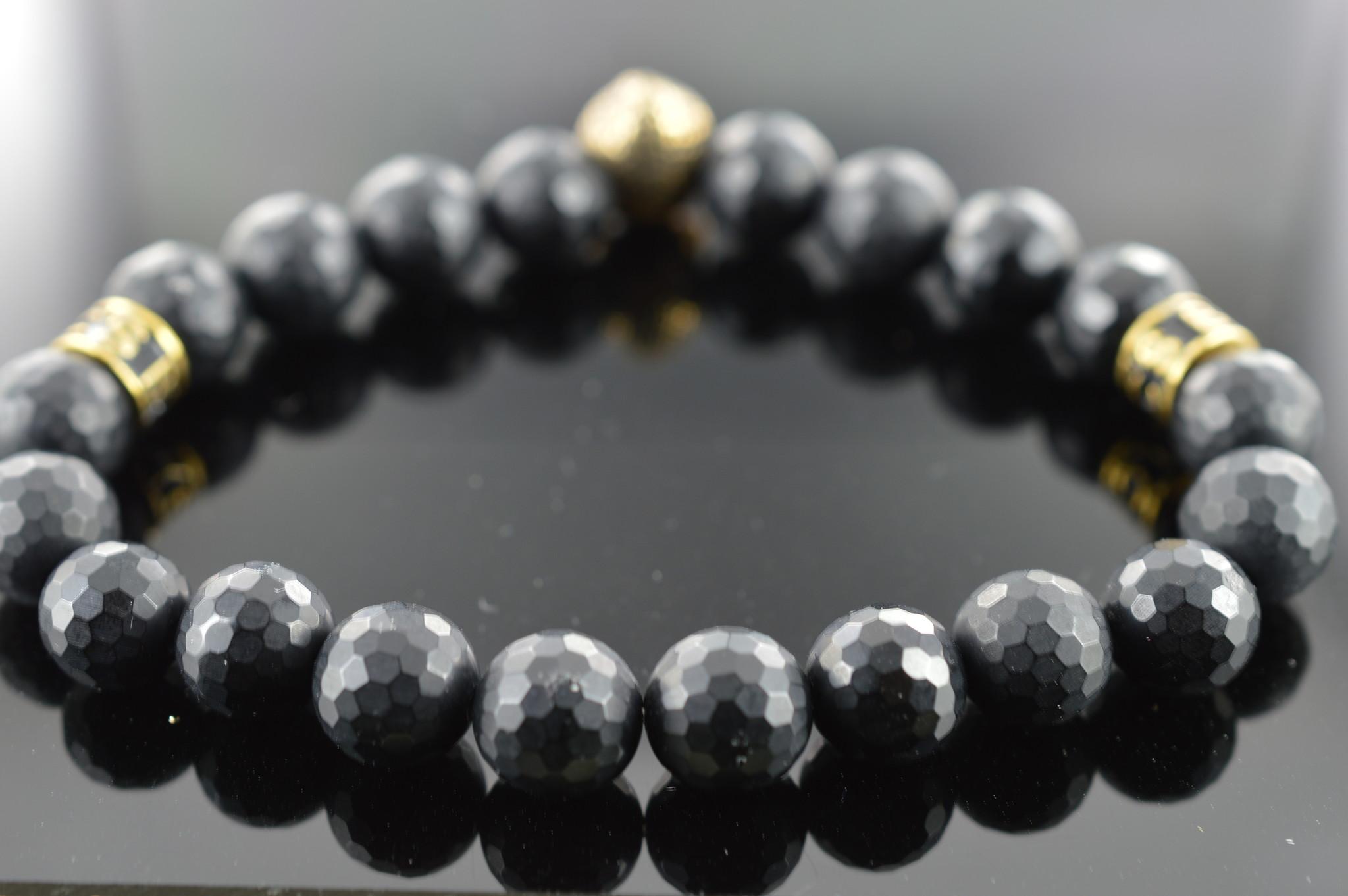 Armband heren Black Buddha-2
