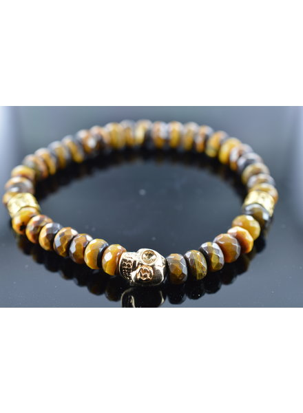 JayC's Men's Bracelet Bad Monday Skull