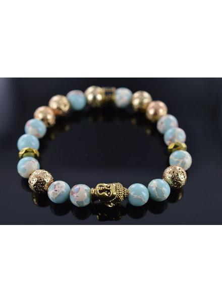 JayC's Damen-Armband Moon Buddha