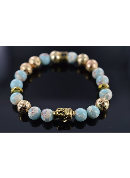 JayC's Ladies Bracelet Moon Buddha
