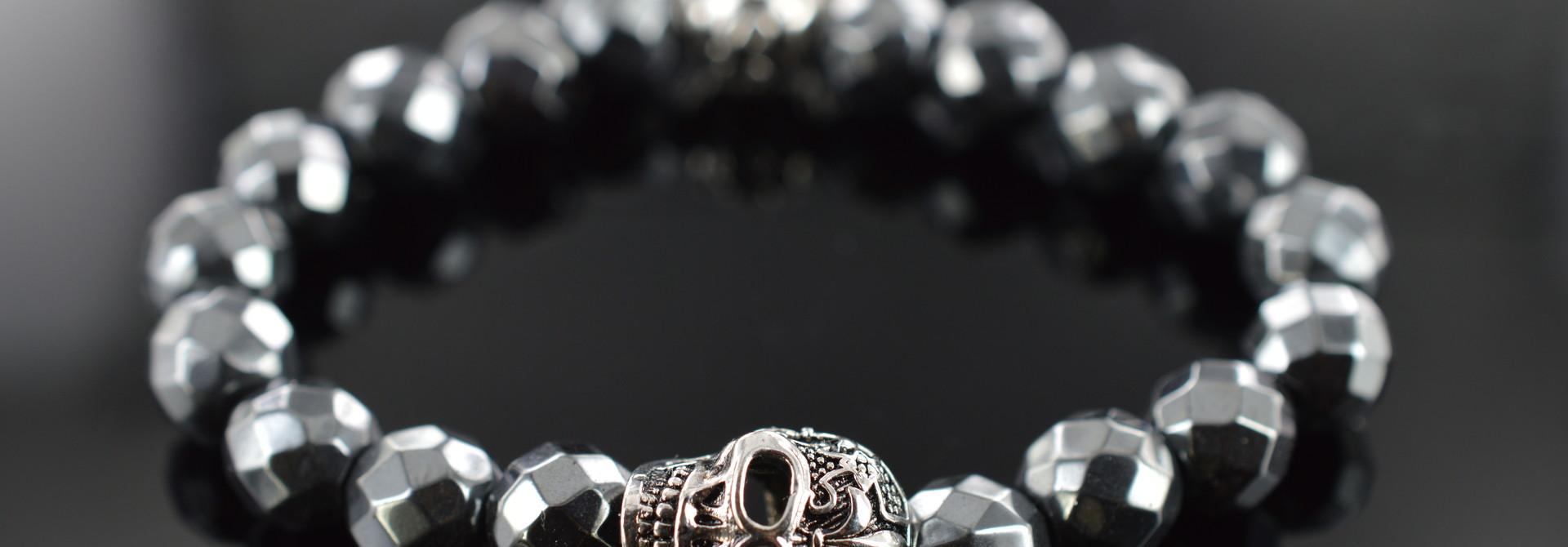 Armband heren Skull Skeleton Schedel