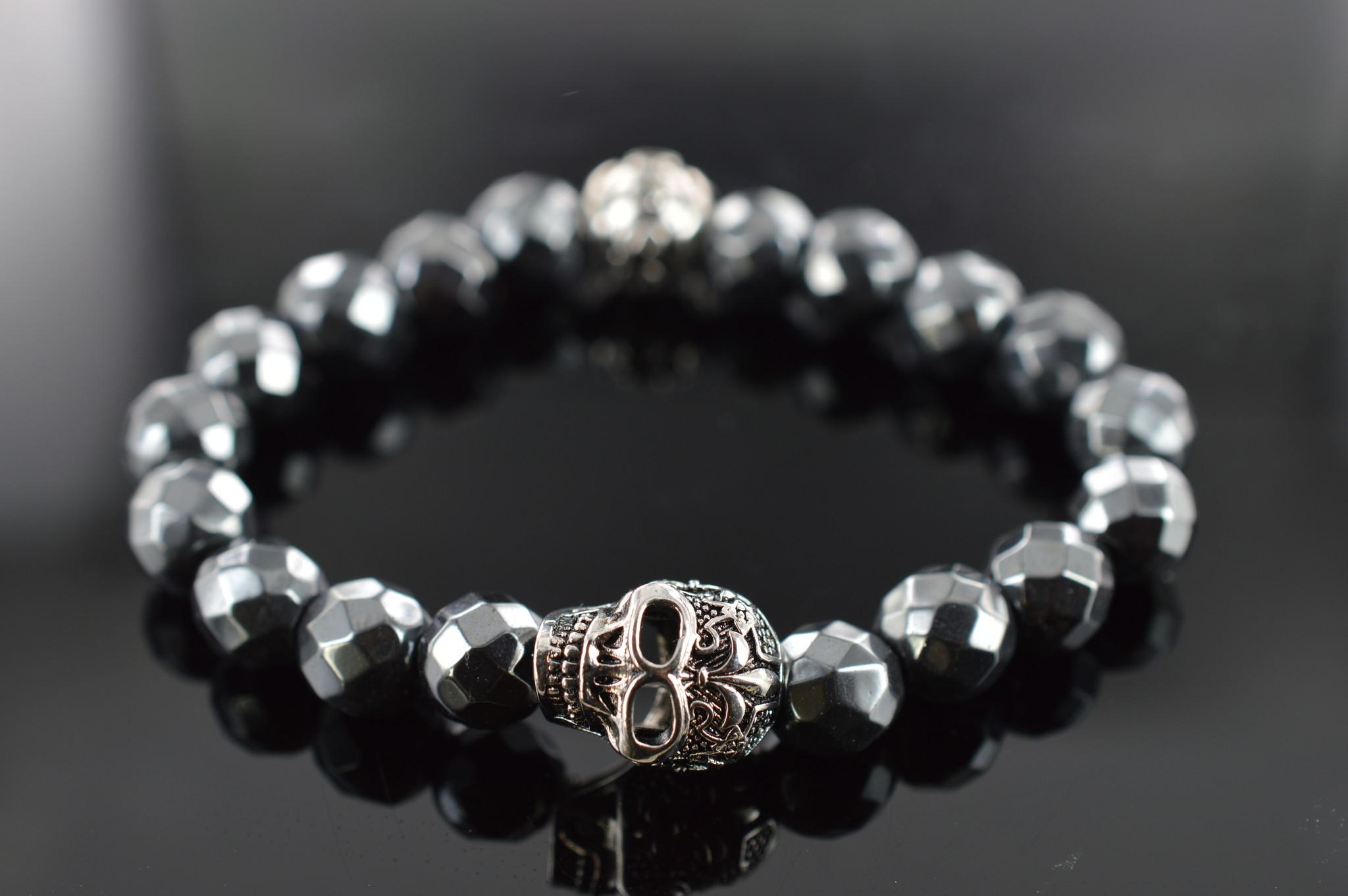 Armband heren Skull Skeleton Schedel-1