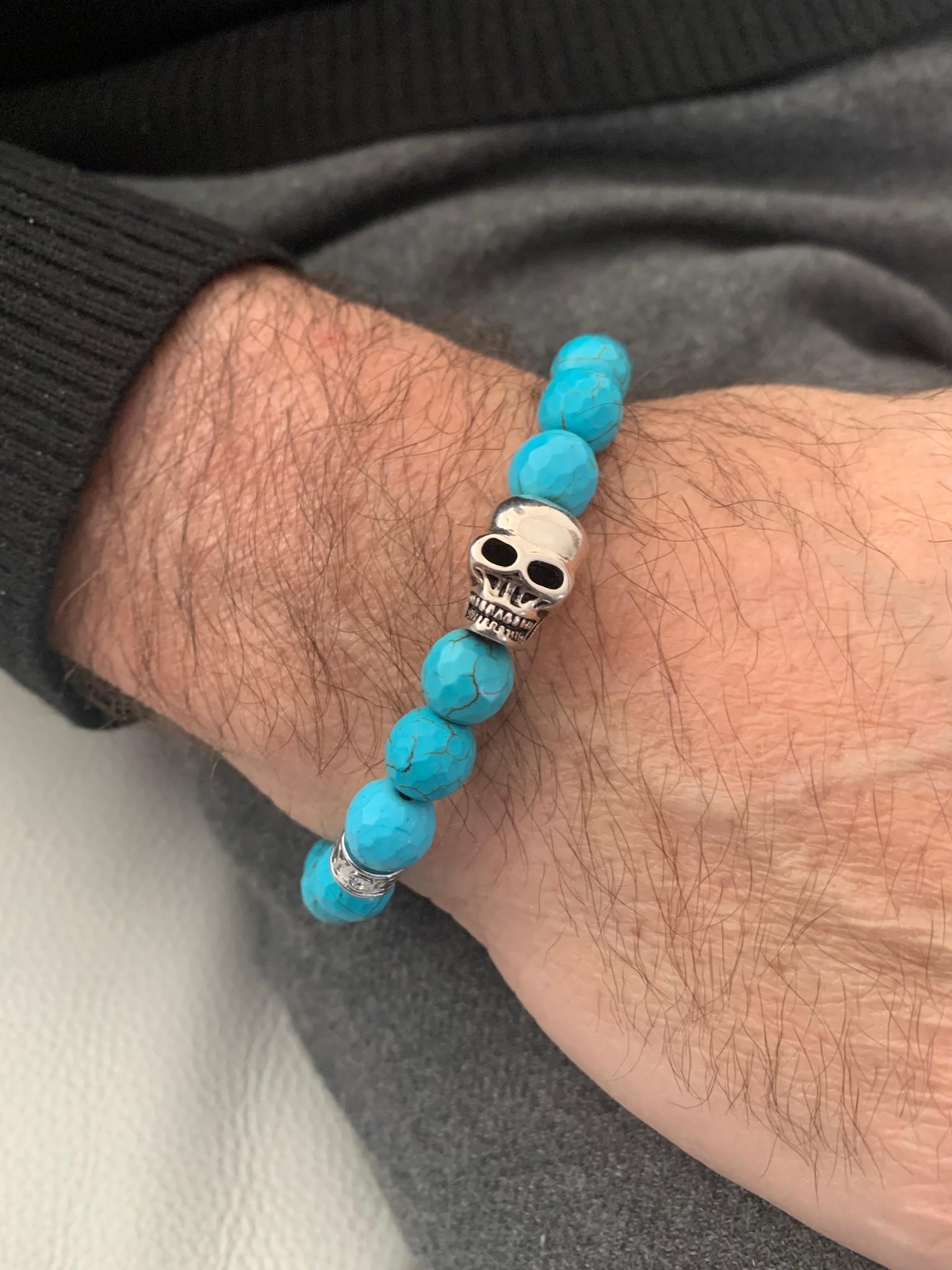 JayC's Bracelet Men Pascalle Skull