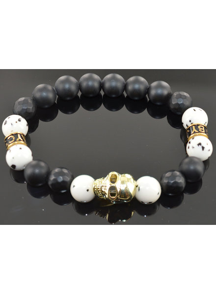 JayC's Men's bracelet  Nikai Skull