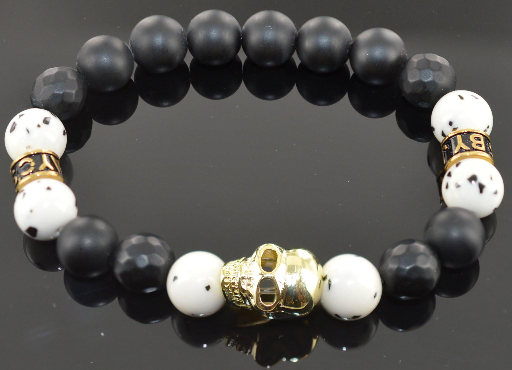 Armband heren  Nikai Skull-1