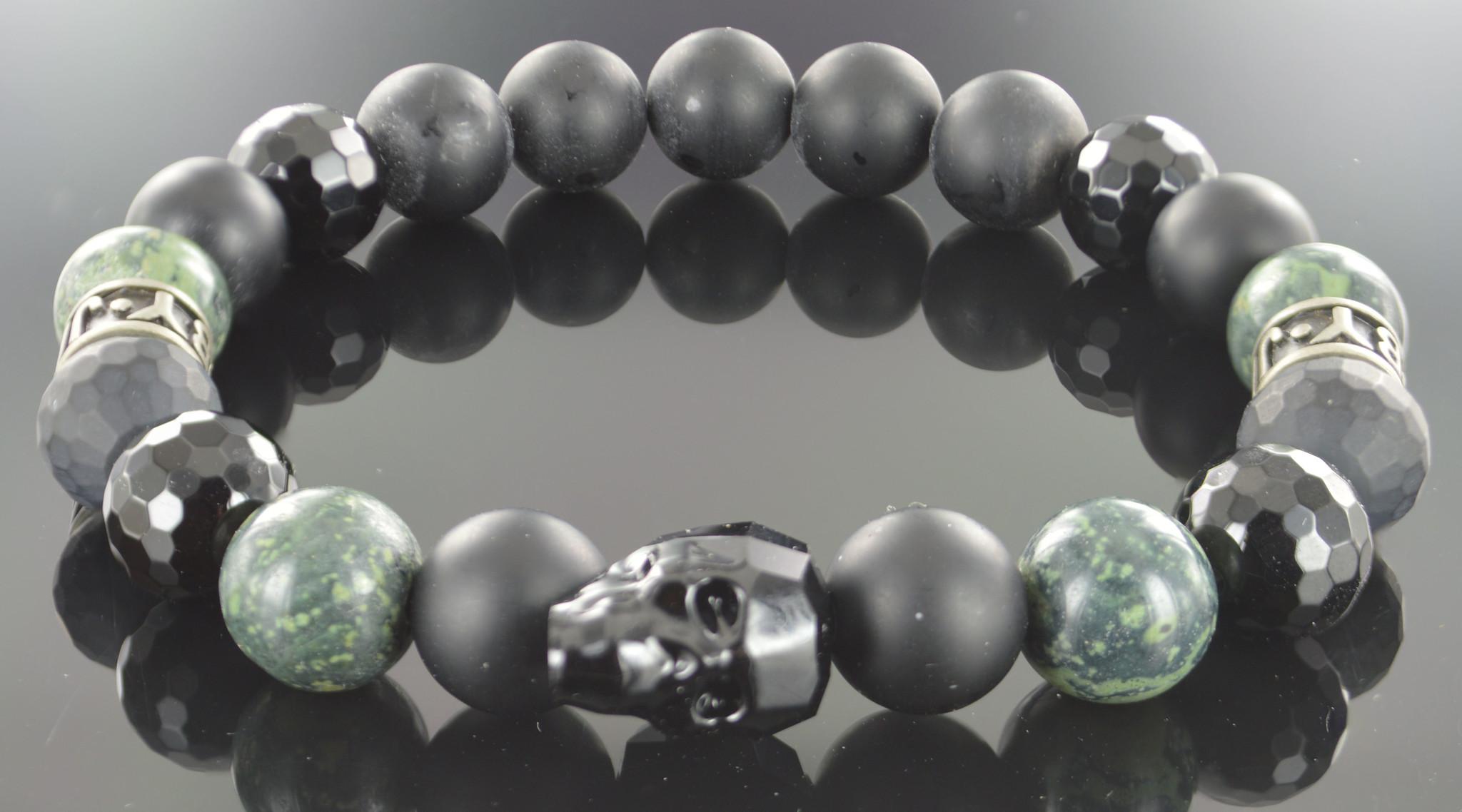 Armband heren Zayn Skull-1