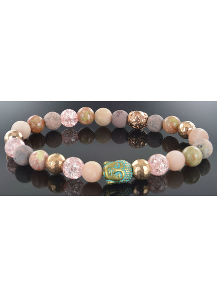 JayC's Dames armband Lola  Buddha
