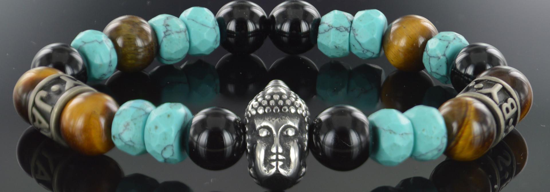 Armband Unisex  Clover Buddha