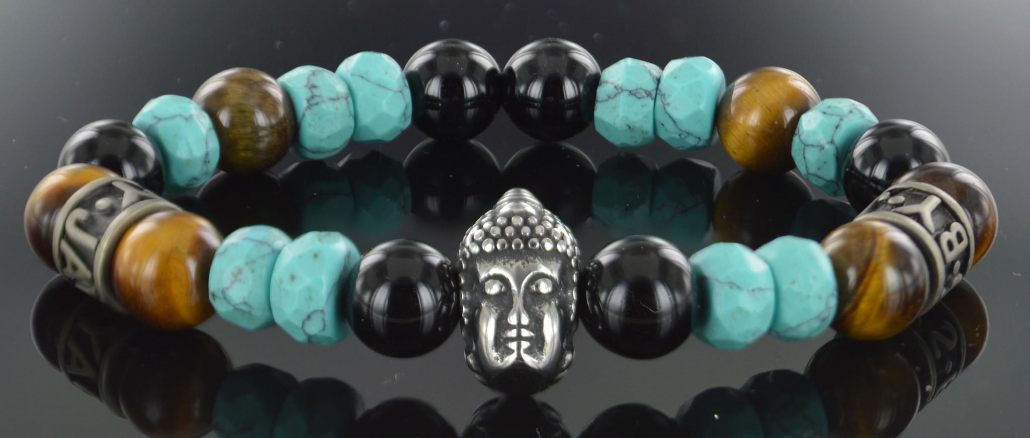 JayC's Armband Unisex  Clover Buddha