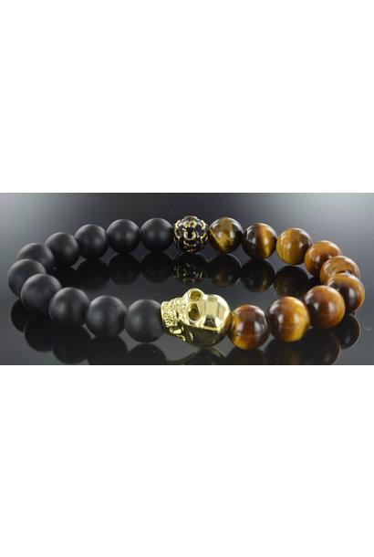 Men's bracelet Waluyo Skull