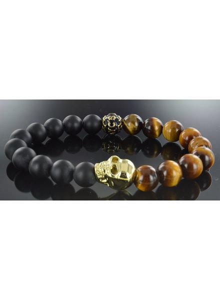 JayC's Men's bracelet Waluyo Skull