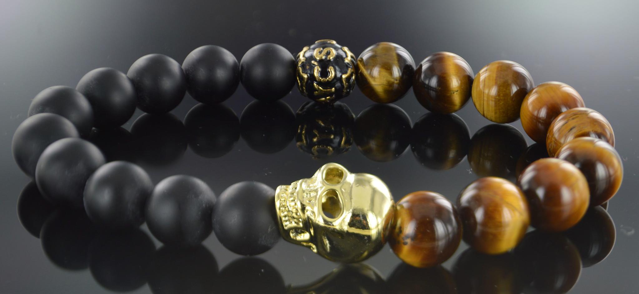 Armband heren Waluyo Skull-1