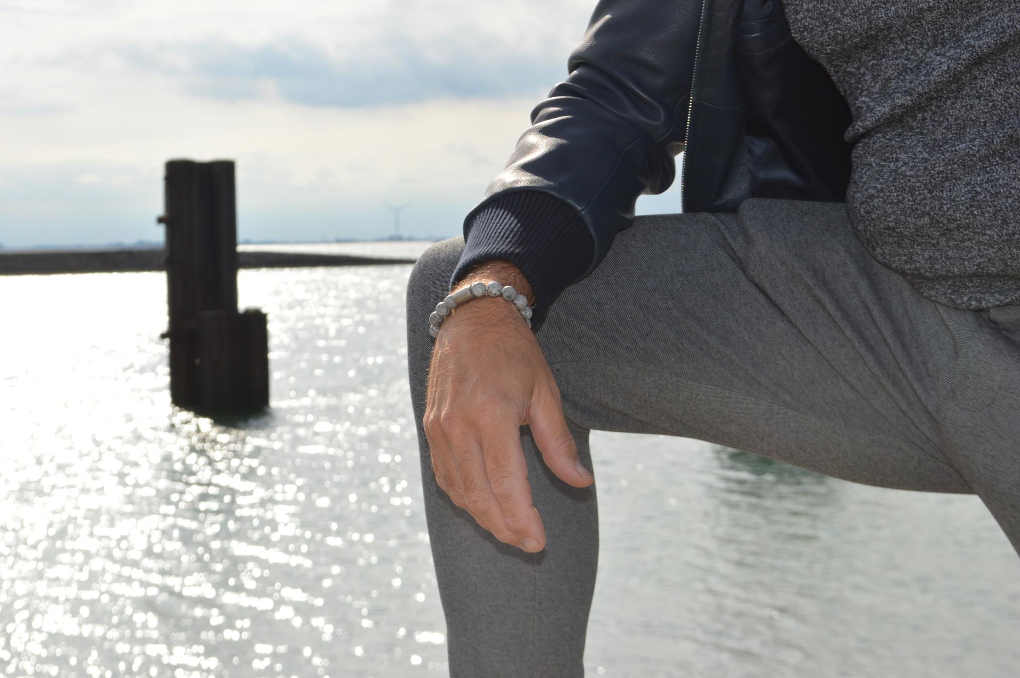 Armband heren Magneet  Lenn-3