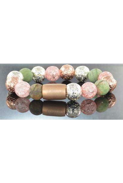 Damen-Armband Magnet Flowerbomb