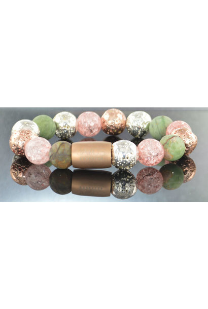 Dames armband Magneet Flowerbomb