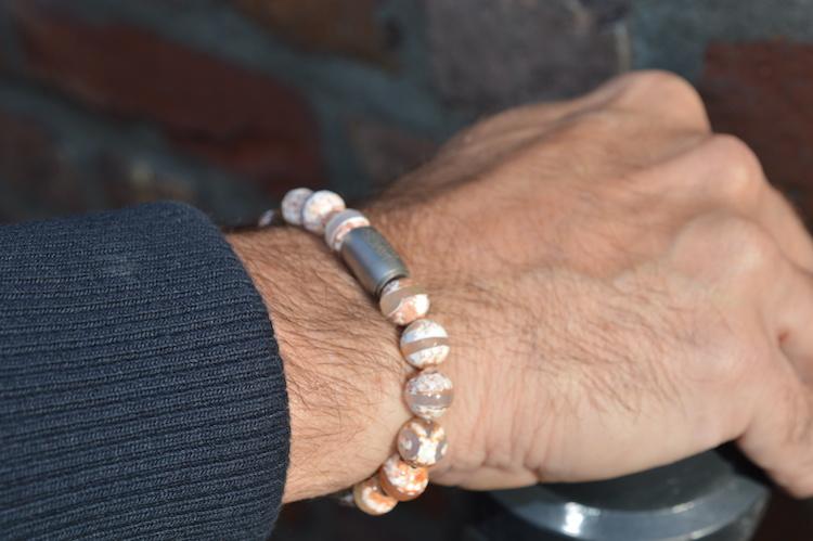 JayC's Bracelet Men  Magnet Braeden