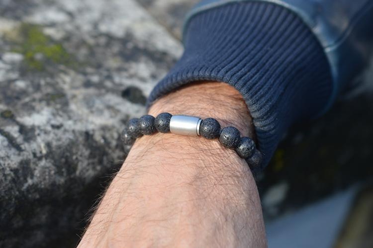 JayC's Armband heren  Magnet  Lasse