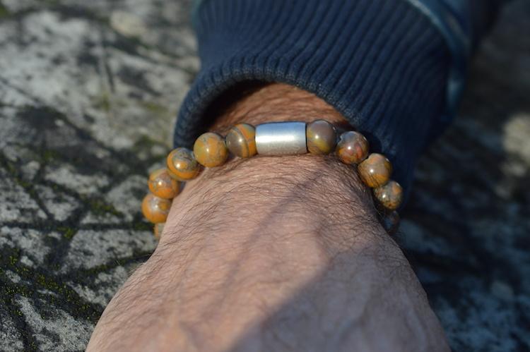 Armband heren  Magnet Caramique-2