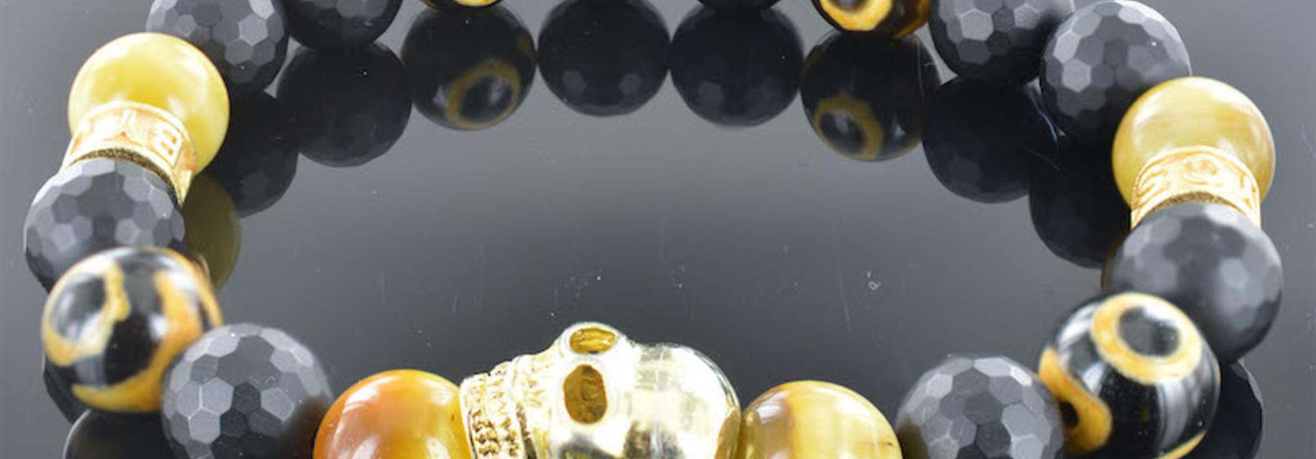 Armband heren Redouan Skull