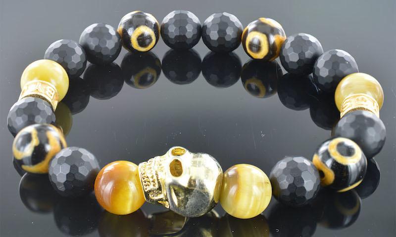 Armband heren Redouan Skull-1
