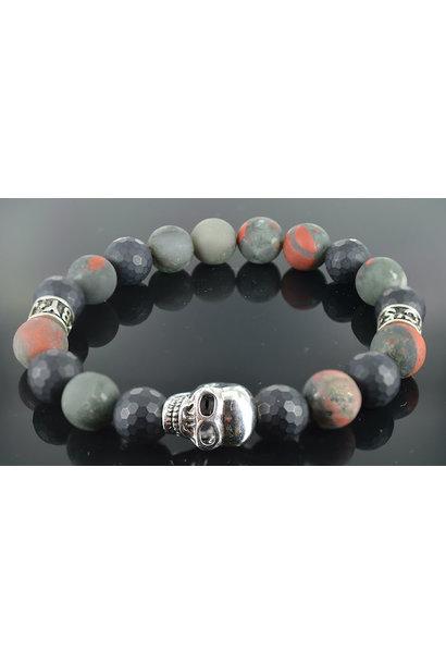 Men's Skull bracelet Hades