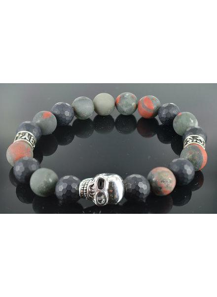 JayC's Herren Skull armband Hades
