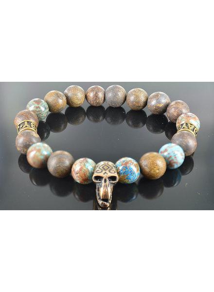 JayC's Men's Skull Bracelet  Roger