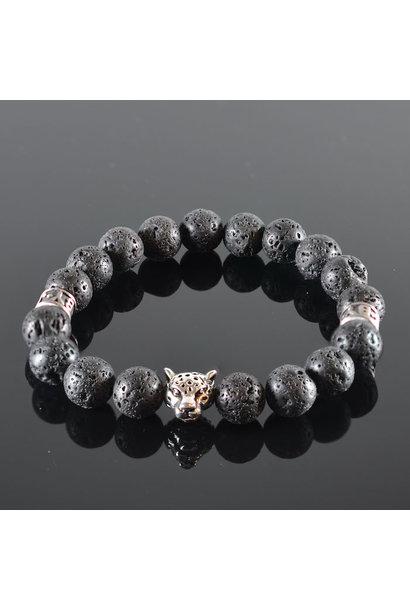 Herren Armband Panther Panthera
