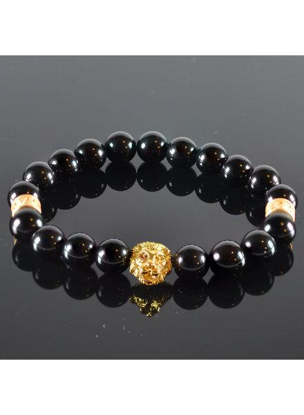JayC's Men's Lionhead Bracelet  Sabi