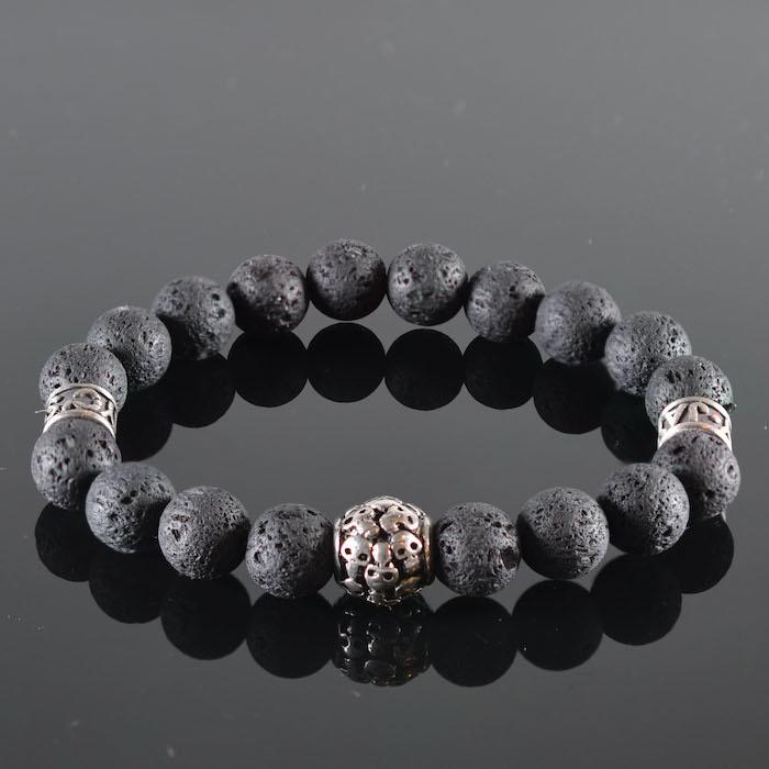 Skull Armband heren Black Power-1
