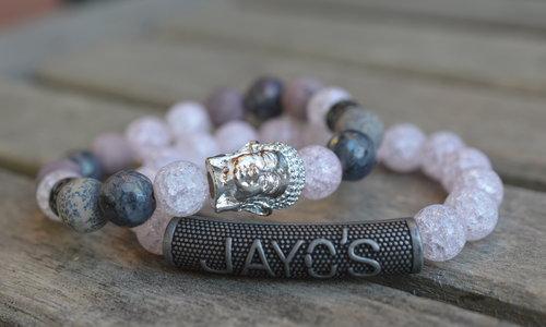 Buddha armband dames