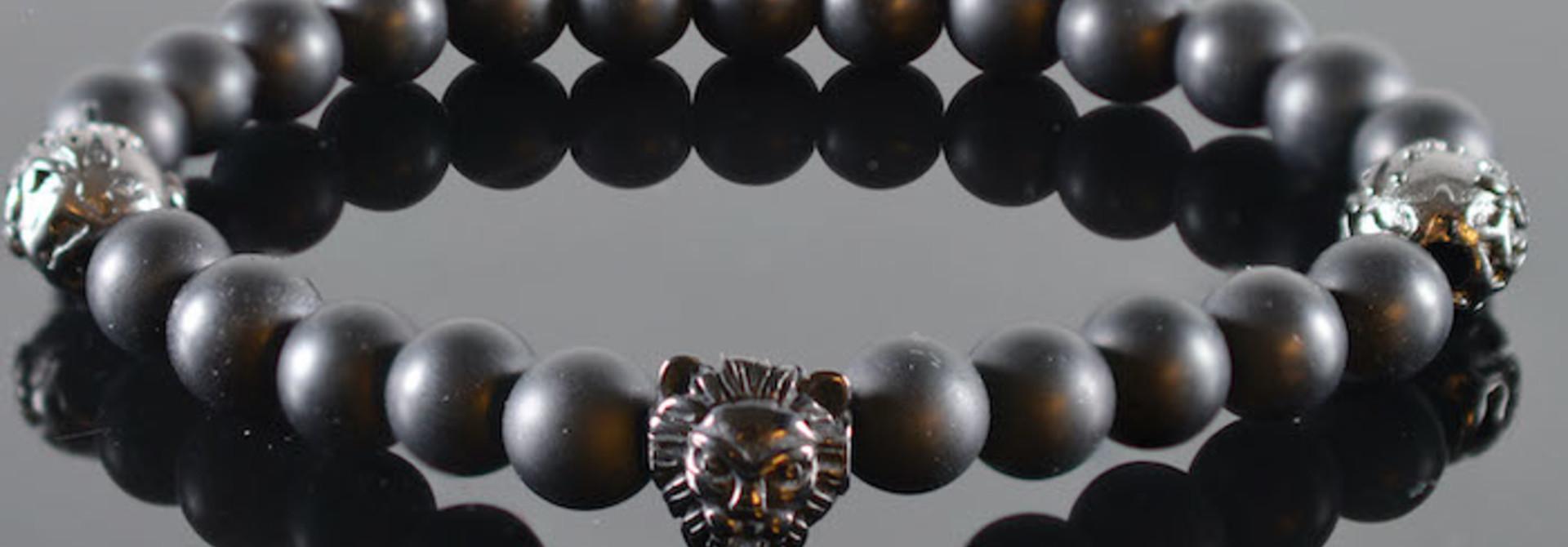 Leeuwenkop Armband heren Ferao