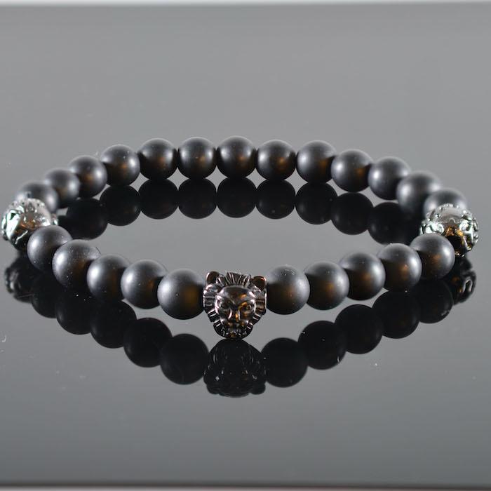 Leeuwenkop Armband heren Ferao-1