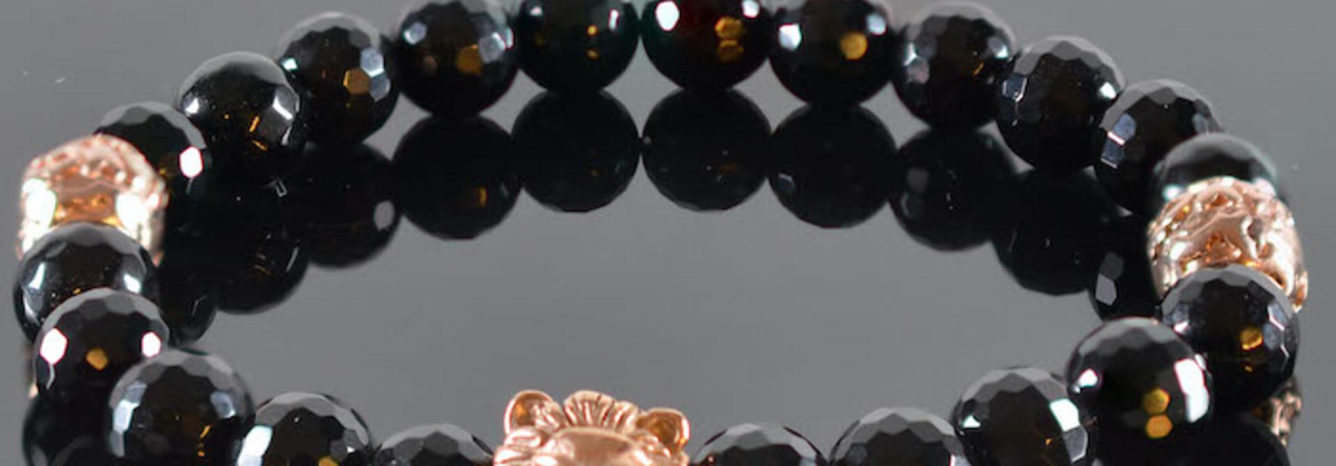Leeuwenkop Armband heren Boas