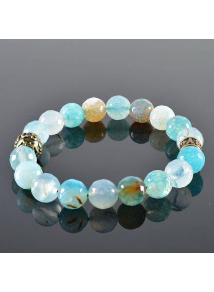 JayC's Men's bracelet Blue Lagoon I