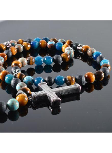 JayC's Men's Necklace Germaine Cross