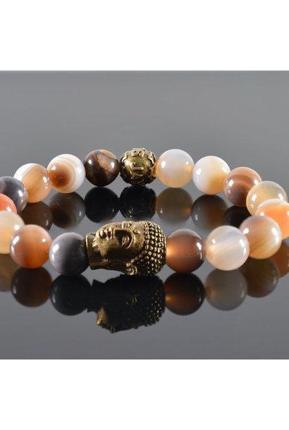 Damen-Armband Roses II Buddha