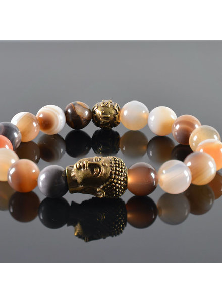 JayC's Damen-Armband Roses II Buddha