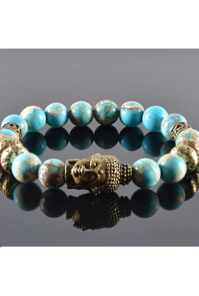 Unisex armband Merede Buddha