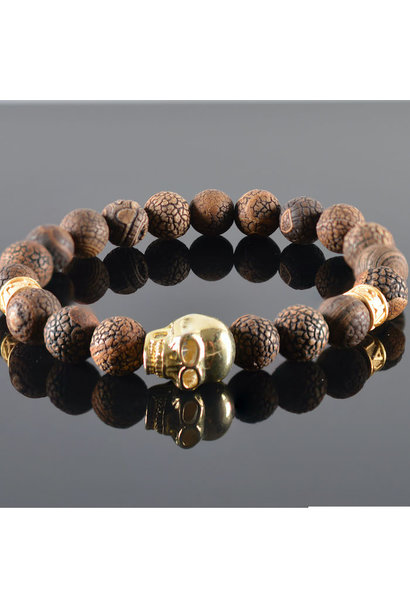 Men's Bracelet  Douglas Skull