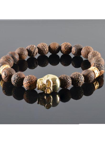 JayC's Men's Bracelet  Douglas Skull
