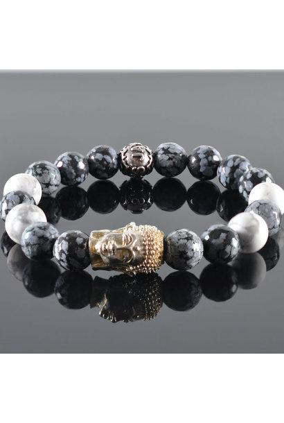 Heren armband Winan Buddha