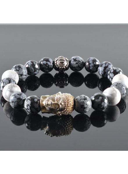 JayC's Herren armband Winan Buddha